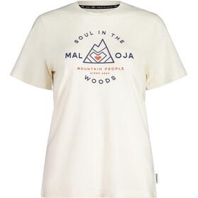 Maloja AlpendostM. SS T-Shirt Women, vintage white
